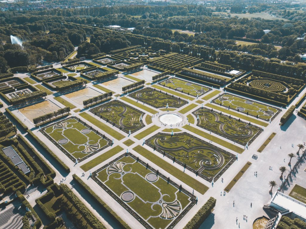 Royal gardens of Herrenhause