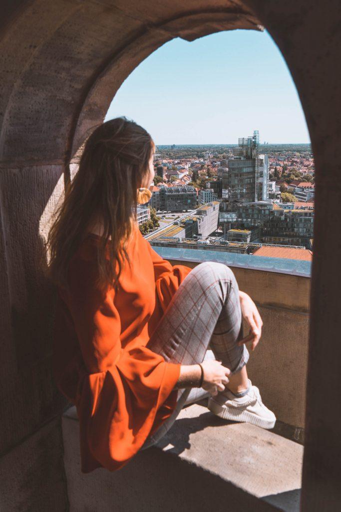 Uitzicht over Hannover