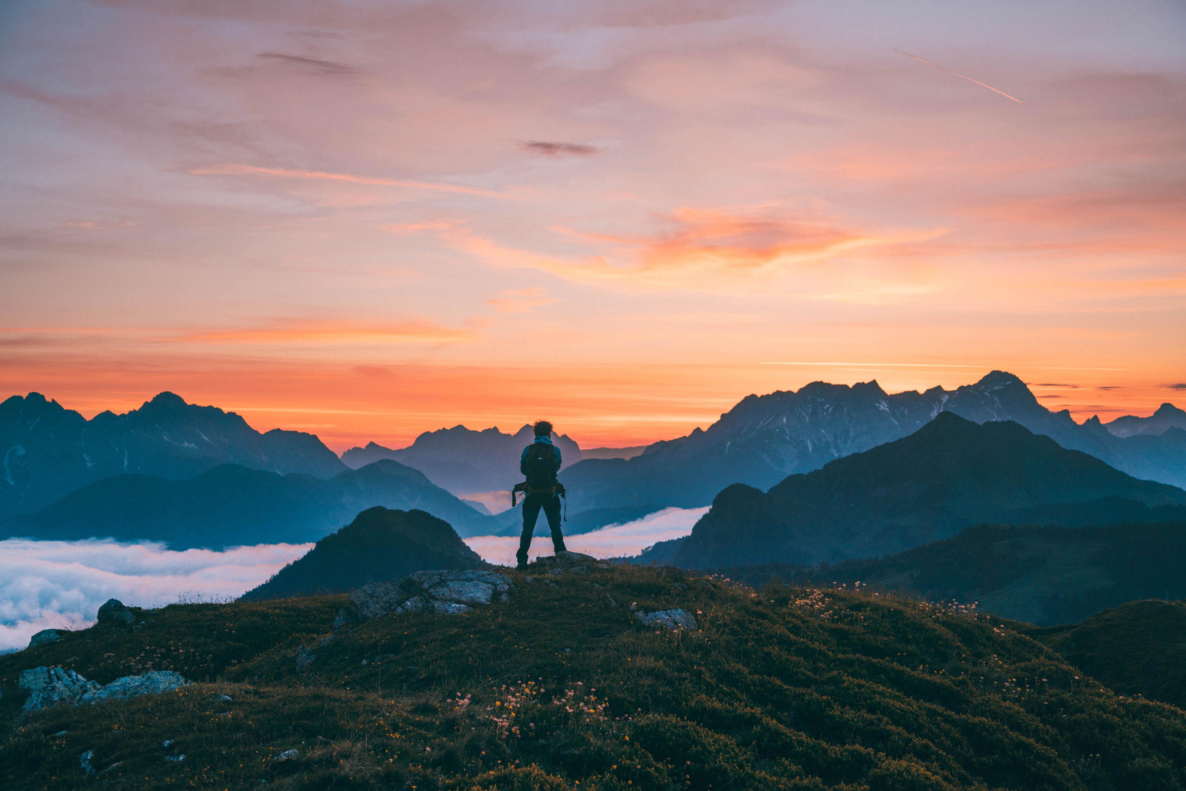 Saalbach sunrise hike
