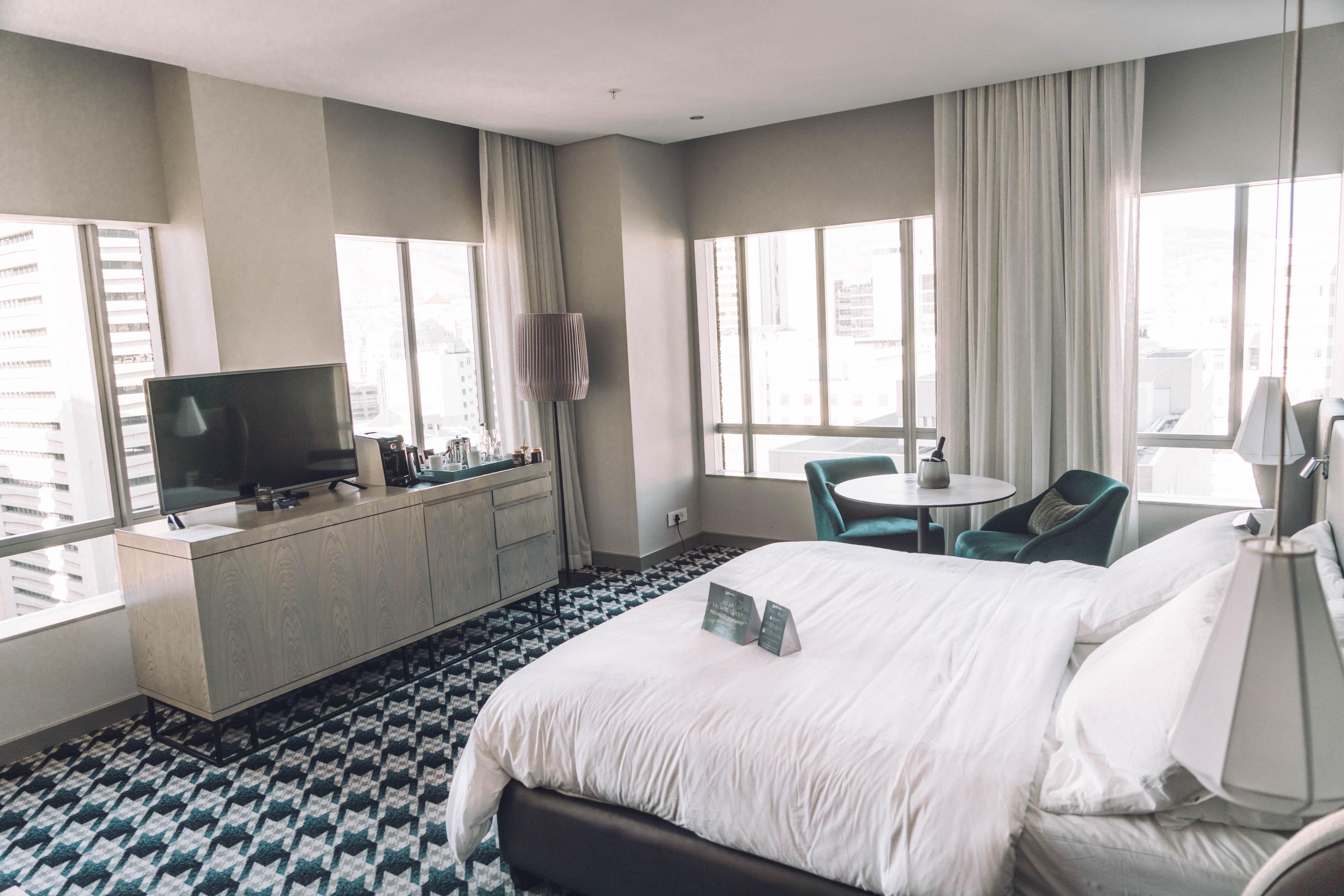 Hotel kamer Kaapstad