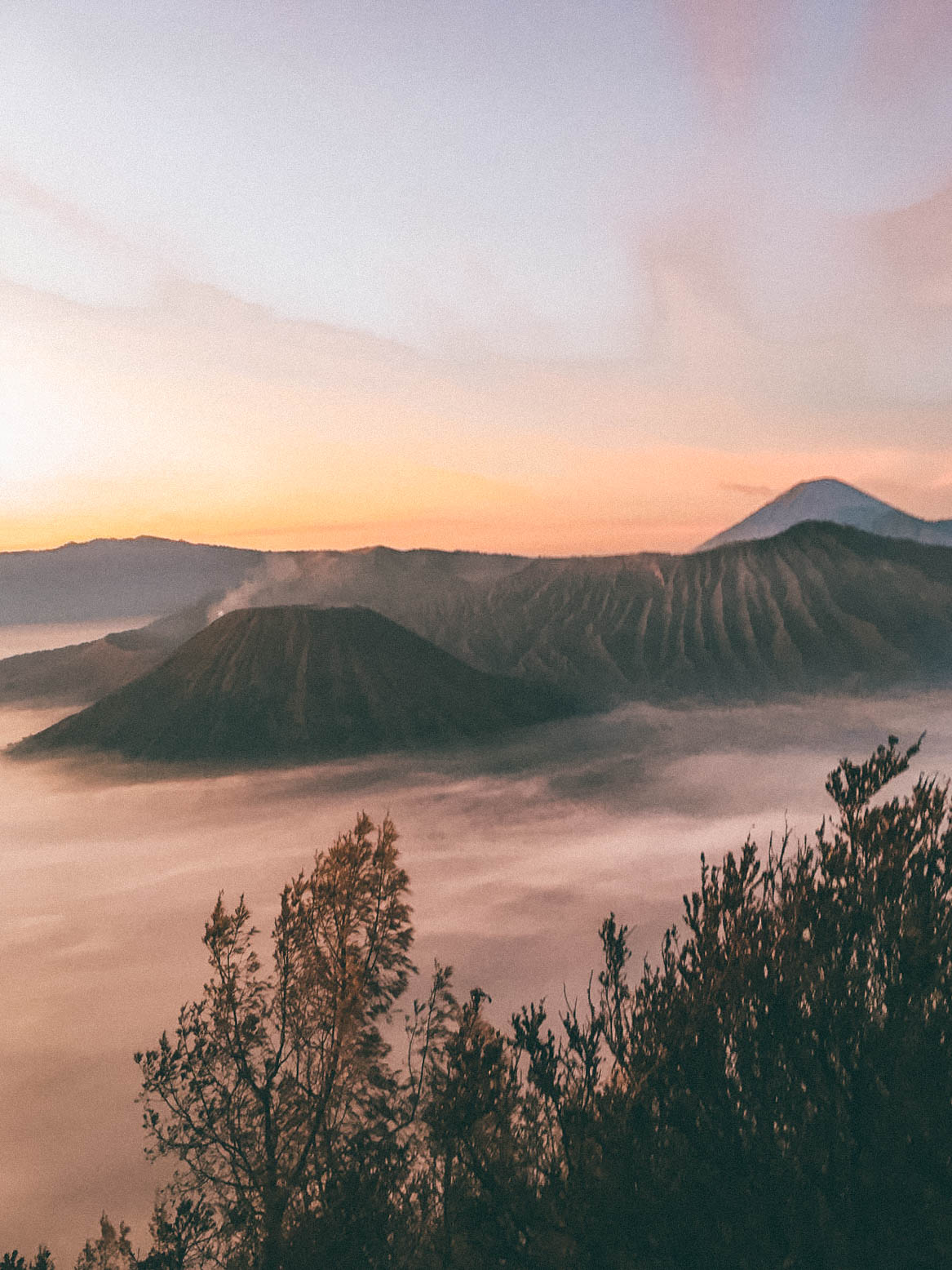 mount Bromo and Ijen crater