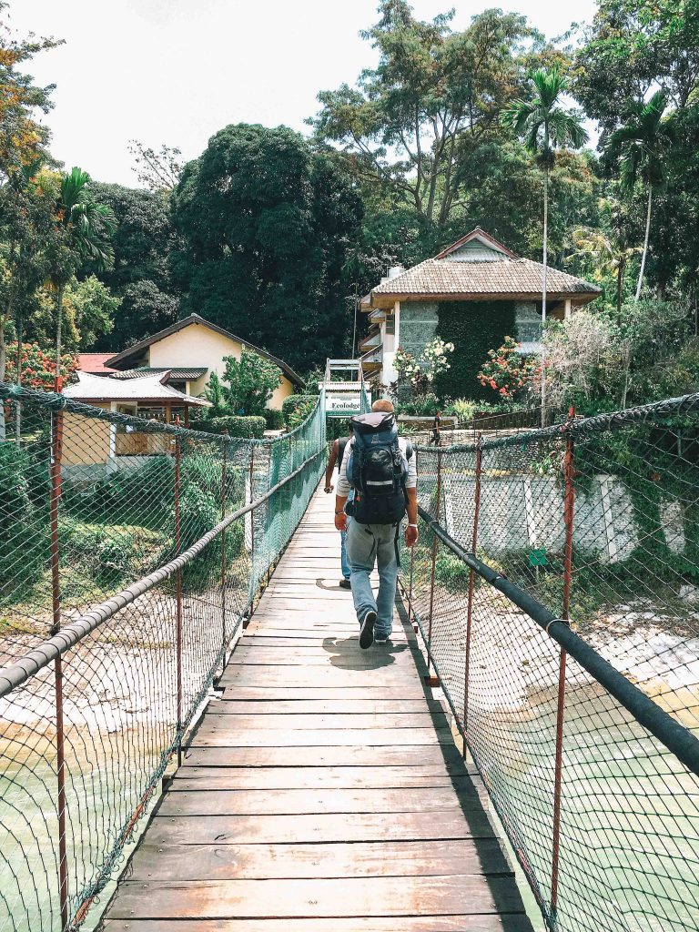Entering Bukit Lawang
