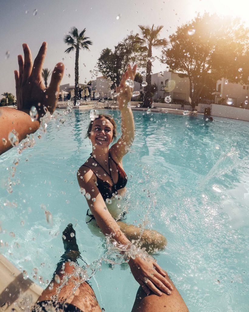Zwembad Grecotel Rhodos Royal