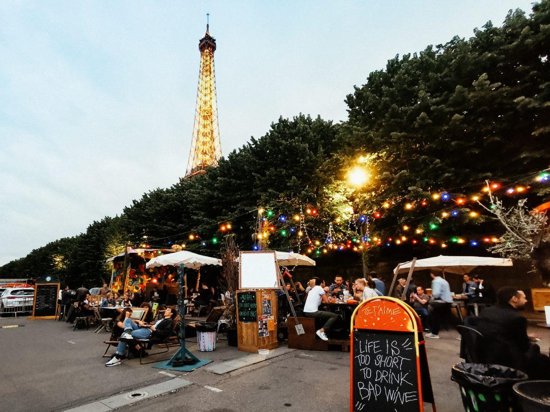 summer bars Paris