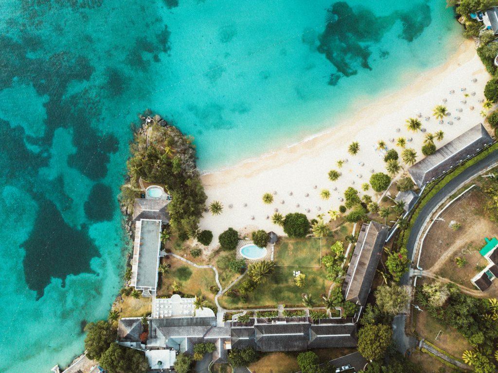 Jamaica drone