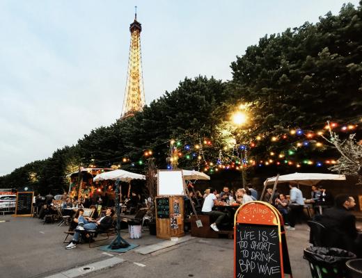 Zomerbars Parijs