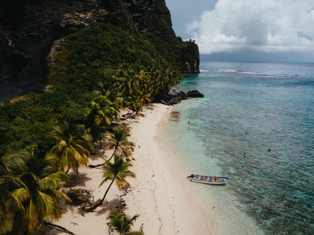 The Dominican Republic, most beautiful beach remote