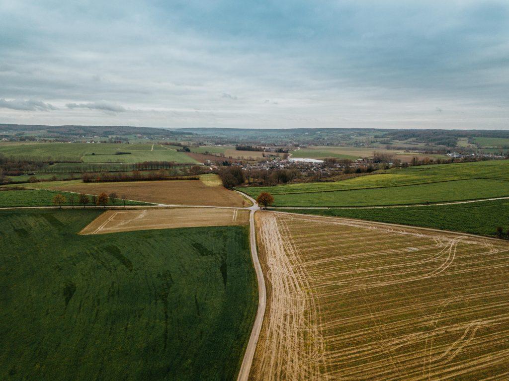 Het uitgestrekte landschap van Zuid-Limburg