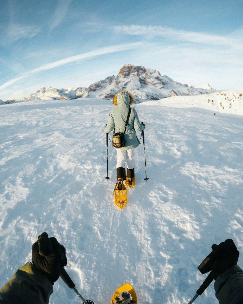 Strudelkopf showshoe hike