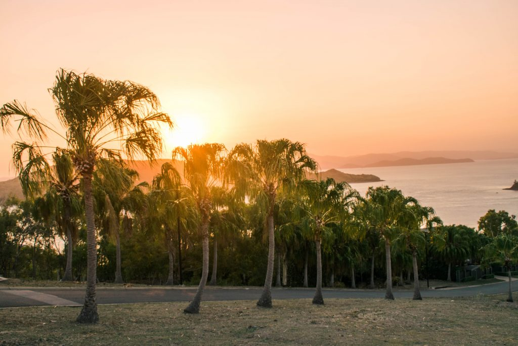 hamilton island sunset