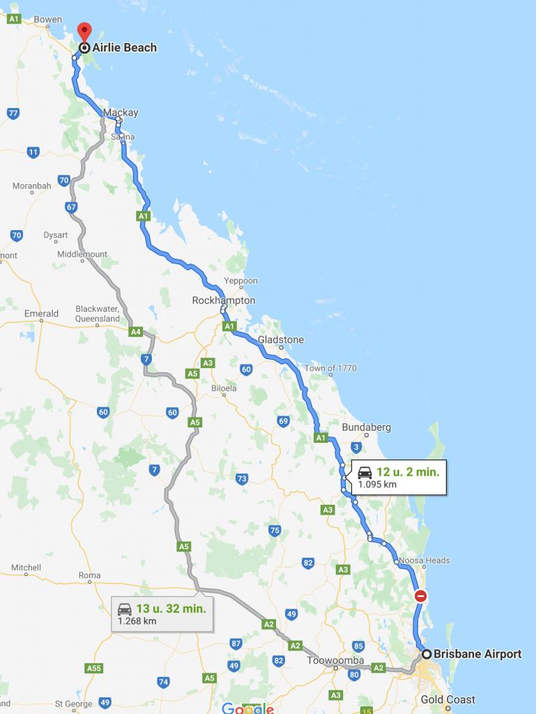 map whitsundays