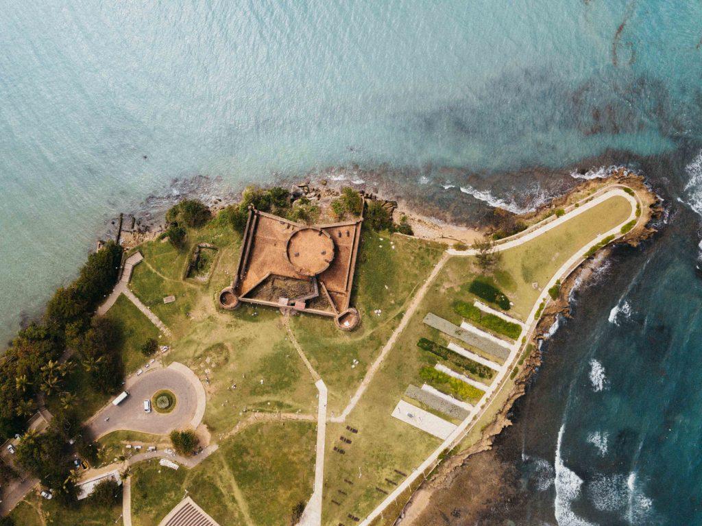 The Dominican republik fort Puerto plata