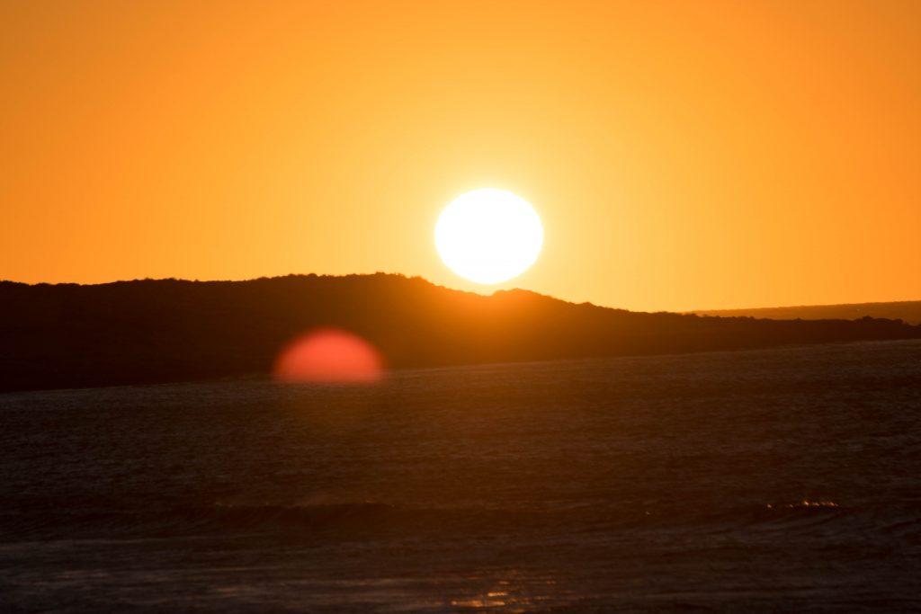ningaloo exmouth sunset