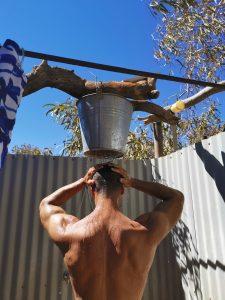 bullara donkey shower