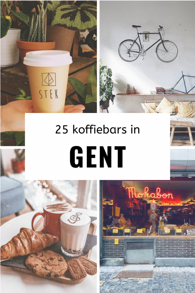 25 koffiebars gent pinterest