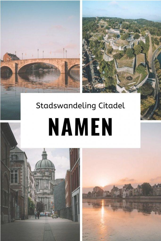 Stadswandeling rond de Citadel Namen