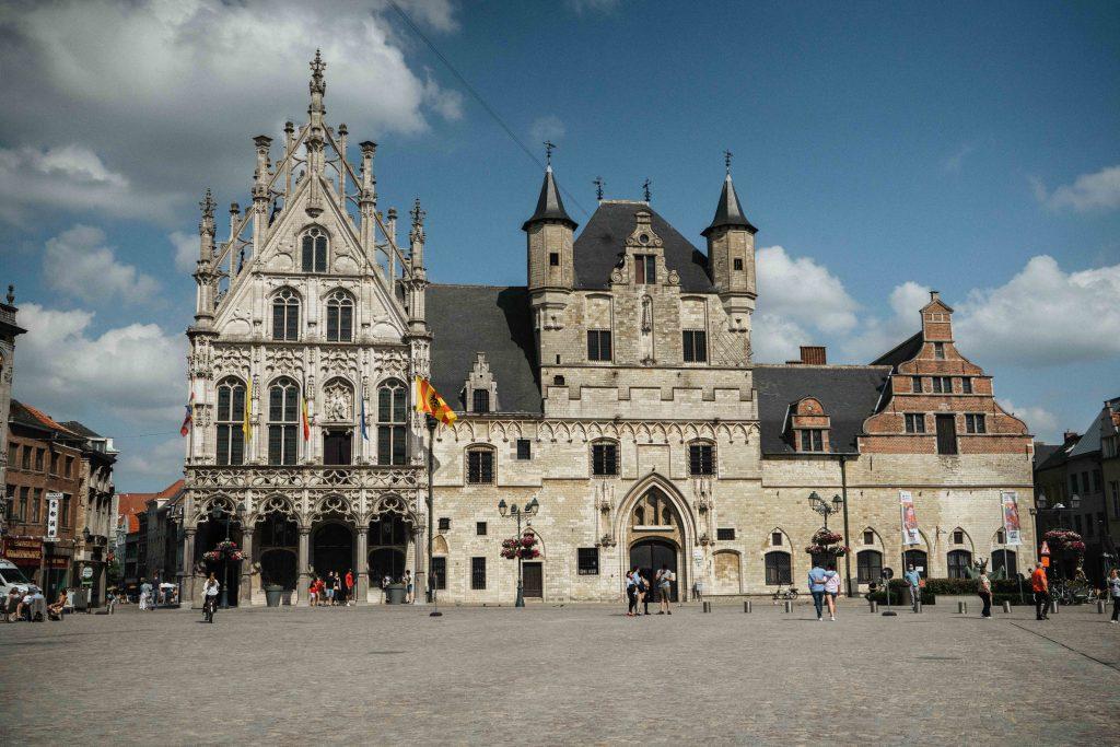 Het stadhuis van Mechelen